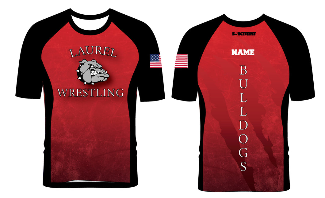 Laurel Bulldogs Sublimated Fight Shirt - 5KounT