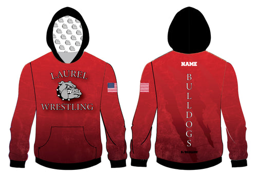 Laurel Bulldogs Sublimated Hoodie