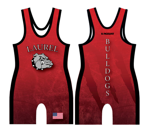 Laurel Bulldogs Sublimated Singlet