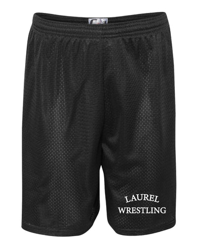 Laurel Bulldogs Tech Shorts - Black