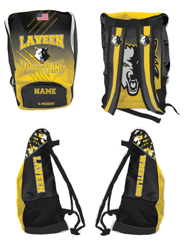Laveen Wrestling Sublimated Backpack