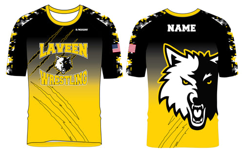Laveen Wrestling Sublimated Fight Shirt
