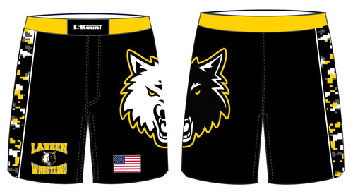 Laveen Wrestling Sublimated Fight Shorts