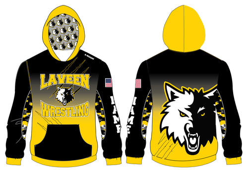 Laveen Wrestling Sublimated Hoodie
