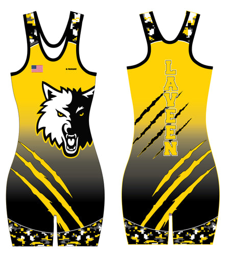 Laveen Wrestling Sublimated Women's Singlet