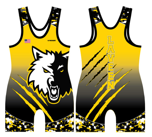 Laveen Wrestling Sublimated Men's Singlet