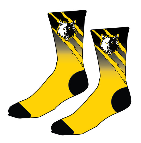 Laveen Wrestling Sublimated Socks