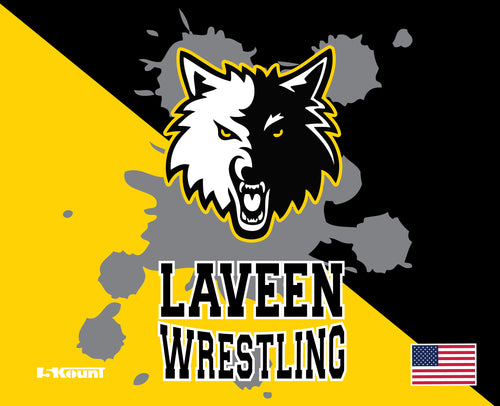 Laveen Wrestling Sublimated Mousepad