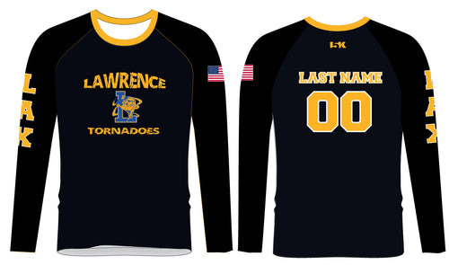Lawrence LAX Long Sleeve Compression Shirt - Black