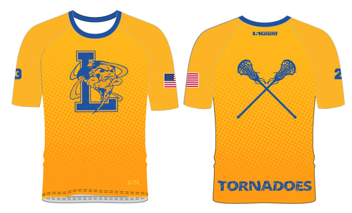 Lawrence LAX Sublimated Shooting Shirt - Athletic Gold