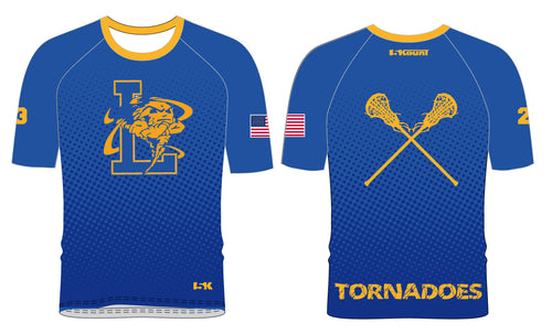 Lawrence LAX Sublimated Shooting Shirt - Royal Blue