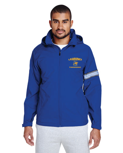 Lawrence HS All Season Hooded Jacket - Royal Blue