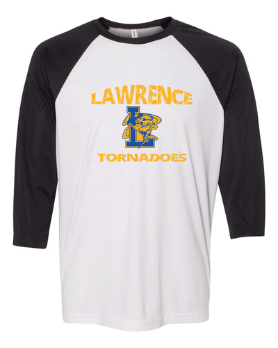 Lawrence HS Baseball Shirt - Black & White