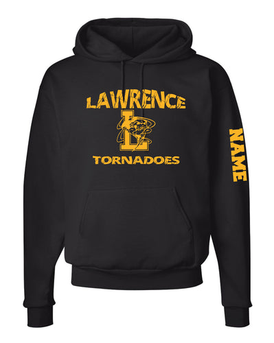 Lawrence HS Cotton Hoodie - Black