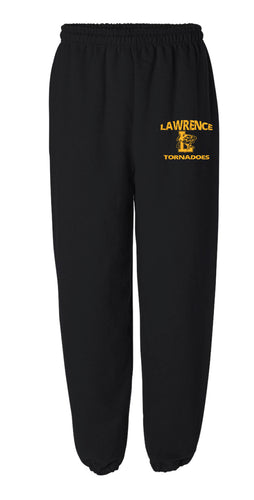 Lawrence HS Cotton Sweatpants - Black
