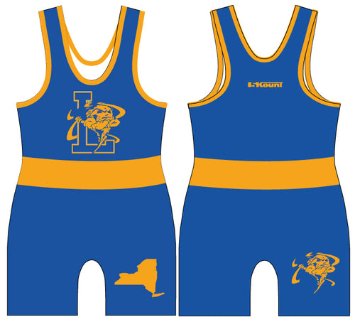 Lawrence HS Wrestling Sublimated Singlet