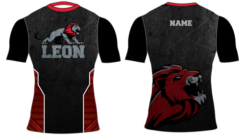 Leon HS Sublimated Compression Shirt - 5KounT2018