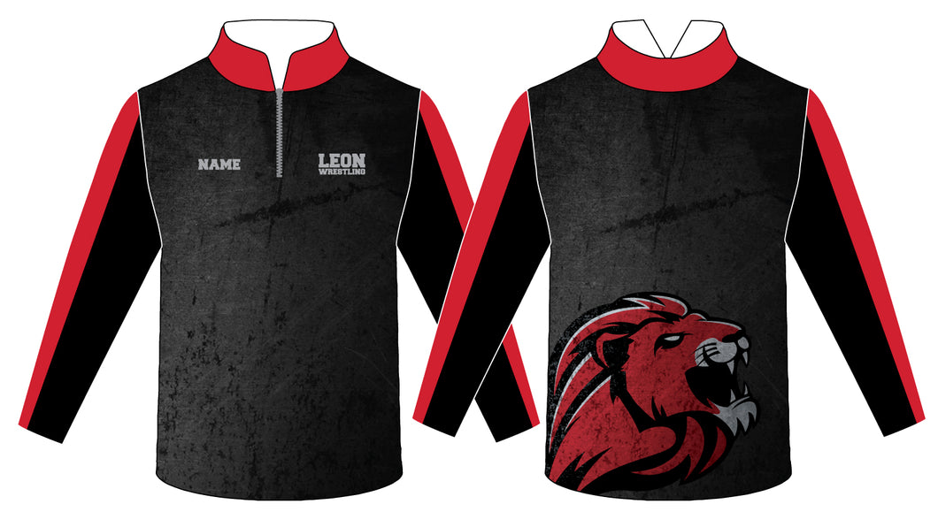 Leon HS Sublimated Quarter Zip