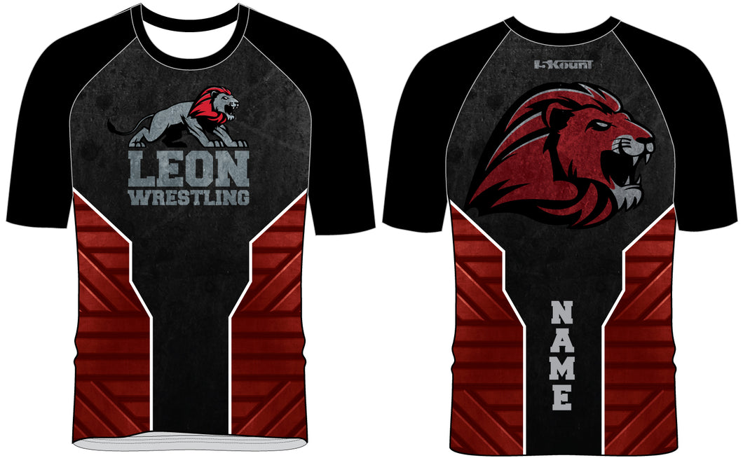 Leon HS Sublimated Fight Shirt