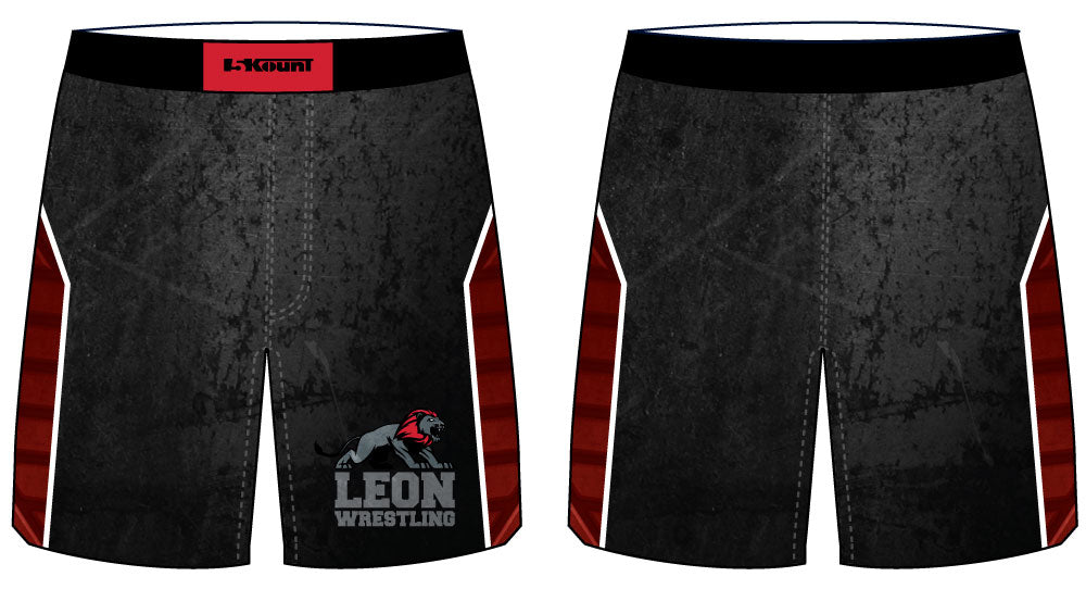 Leon HS Sublimated Fight Shorts
