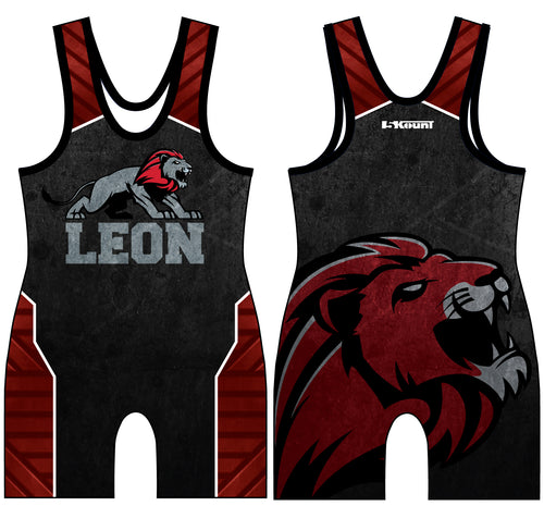Leon HS Sublimated Singlet - 5KounT2018