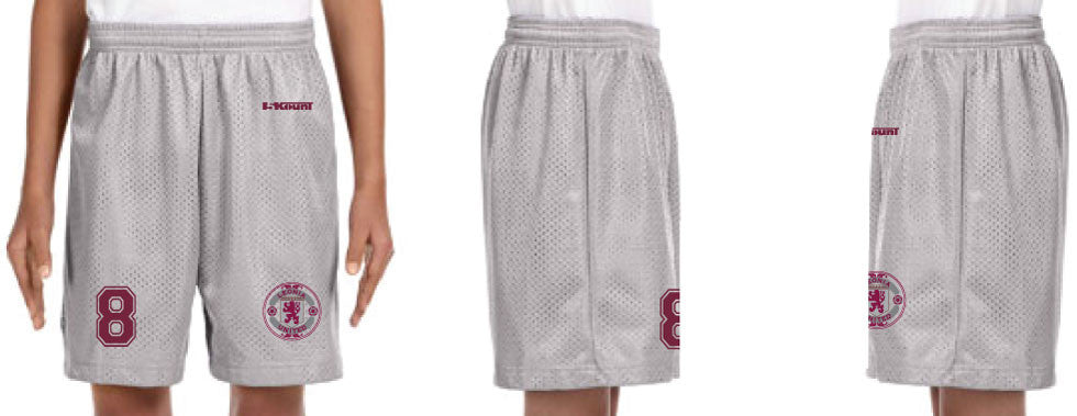Leonia United Lined Tricot Mesh Shorts