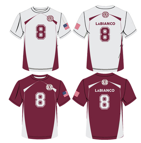 Leonia United Sublimated Reversible Jersey