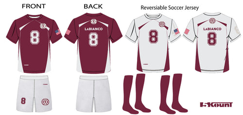 Leonia United Team Uniform