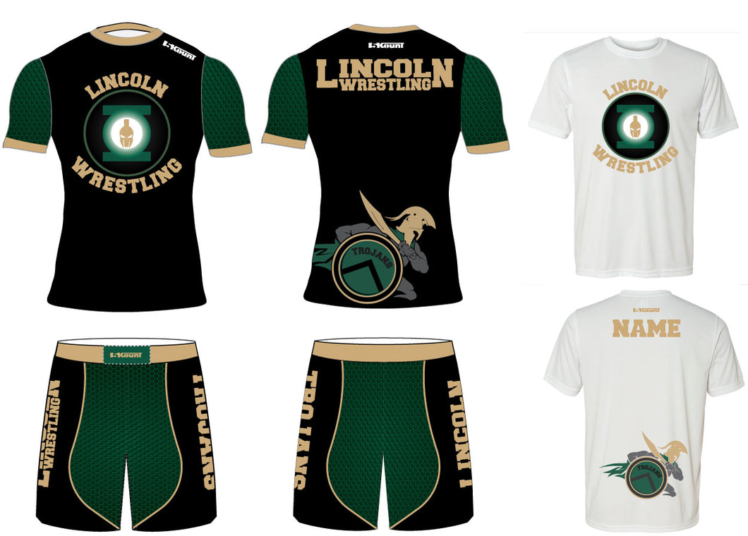 Lincoln HS Wrestling 2017 Package