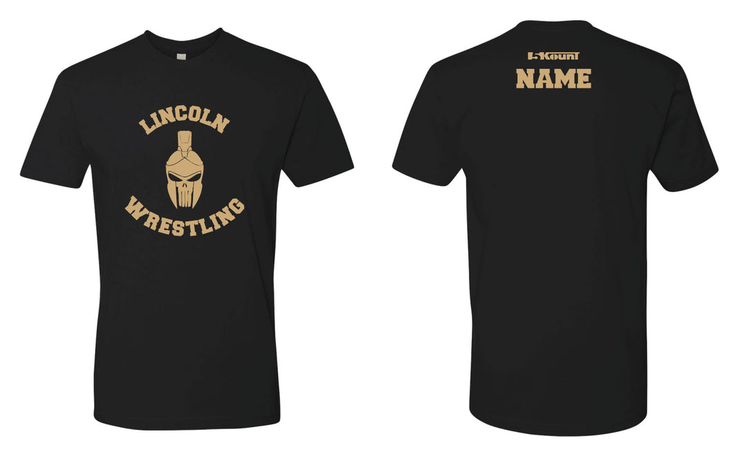 Lincoln HS Wrestling Cotton Crew Tee