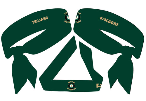 Lincoln HS Wrestling Sublimated Headband - 5KounT