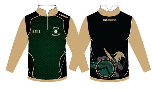 Lincoln HS Wrestling Sublimated Quarter Zip - 5KounT