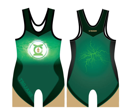 Lincoln HS Wrestling Sublimated Singlet - 5KounT