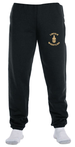 Lincoln HS Wrestling Cotton Sweatpants - 5KounT