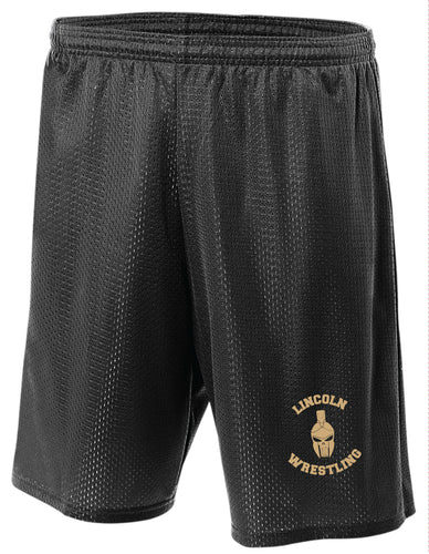 Lincoln HS Wrestling Tech Shorts - 5KounT