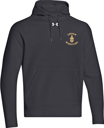 Lincoln Wrestling Under Armour Classic Fleece Hoody - 5KounT