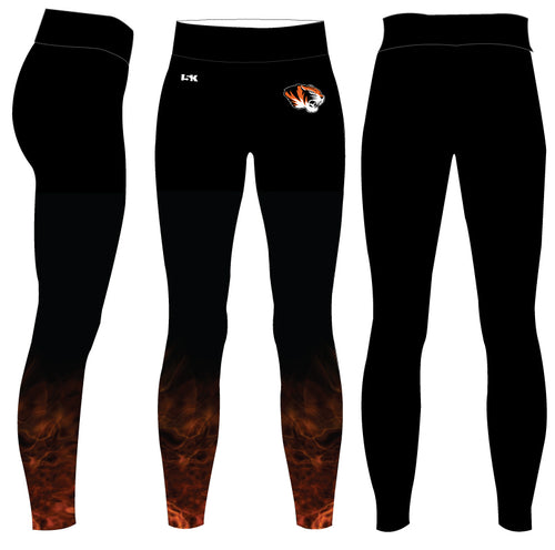 Linden Football Sublimated Ladies Legging - 5KounT2018