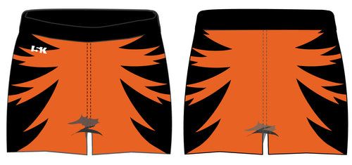 Linden Cheer Sublimated Shorts - Tigers - 5KounT