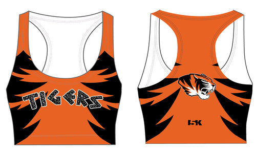 Linden Sublimated Sports Bra - Tigers - 5KounT2018