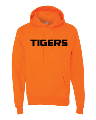 Linden Football Cotton Hoodie - Orange - 5KounT2018