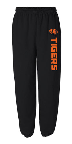 Linden Football Cotton Sweatpants - Black - 5KounT2018