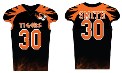 Linden Football Sublimated Football Jersey