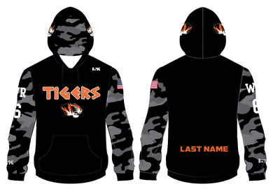 Linden Football Sublimated Hoodie