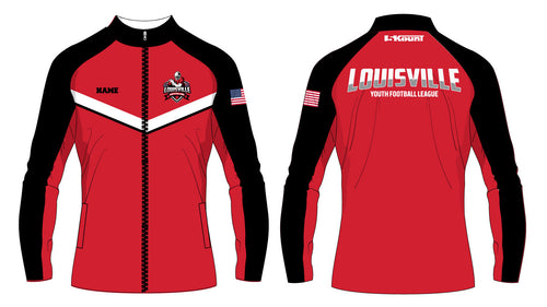 Louisville Football Sublimated WarmUp Full Zip Jacket - 5KounT2018
