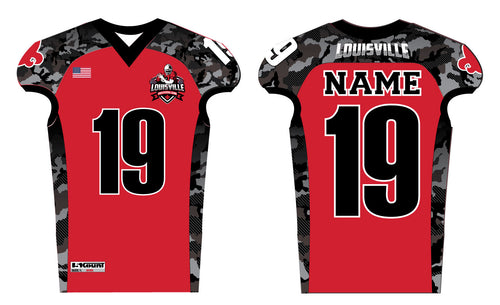 Louisville Tackle Football Sublimated Jersey - 5KounT2018