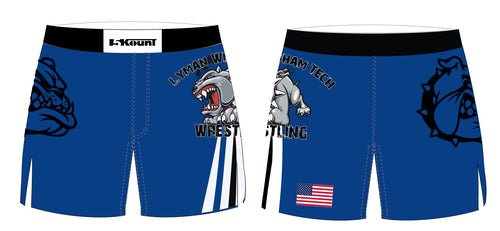 Lyman Windham Tech Wrestling Sublimated Board Shorts
