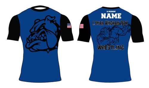 Lyman Windham Tech Wrestling Sublimated Compression Shirt