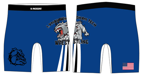Lyman Windham Tech Wrestling Sublimated Compression Shorts