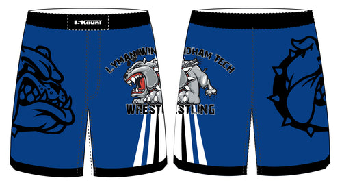 Lyman Windham Tech Wrestling Sublimated Fight Shorts