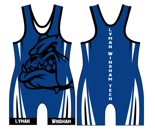 Lyman Windham Tech Wrestling Sublimated Singlet